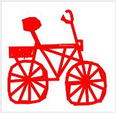 Durch einen Klick auf das rote Fahrrad kommen Sie zu fahrradtouren.de