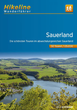 This image has an empty alt attribute; its file name is wanderfuehrer-sauerland-cover-hikeline.jpg